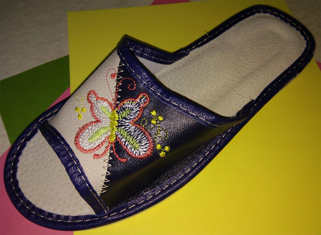 Кожаные тапочки женские Polmar P228 36 размера. Фото 3