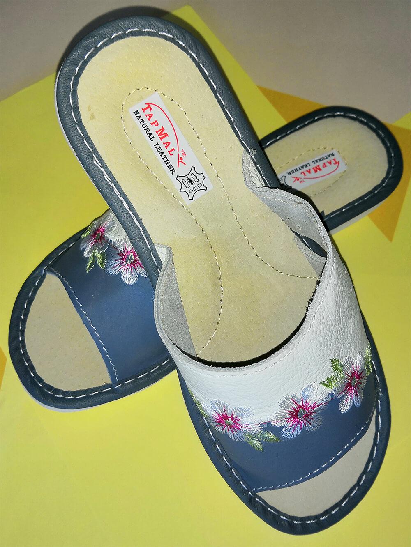 Тапки кожаные женские купить TapMal A308 41 размера. Фото 2