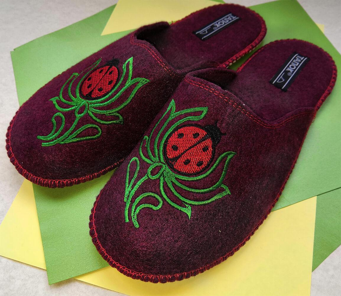 Женские войлочные тапочки TapOk T505 36 размер. Фото 1