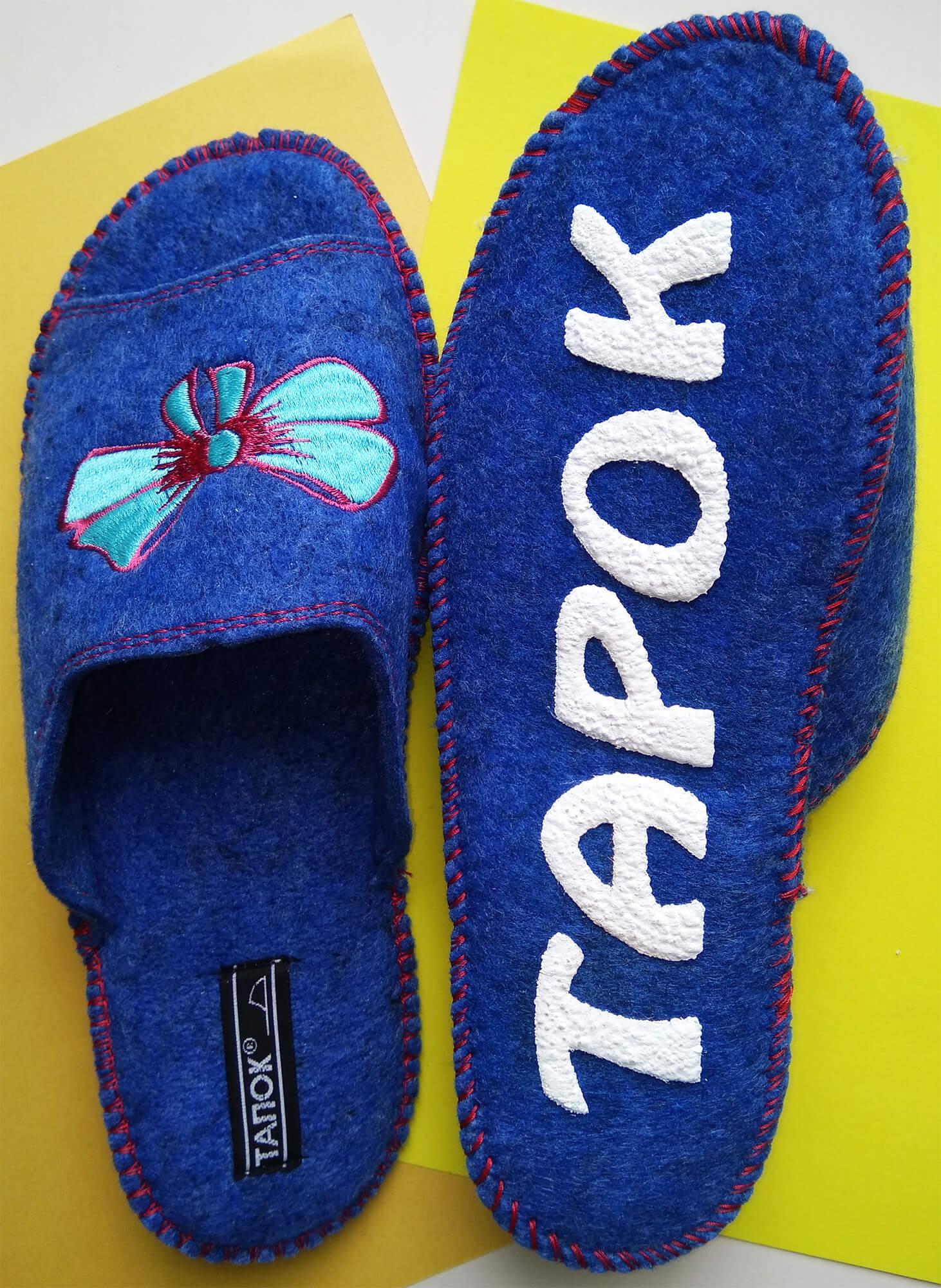 Войлочные тапочки женские TapOK T509b. Фото 5