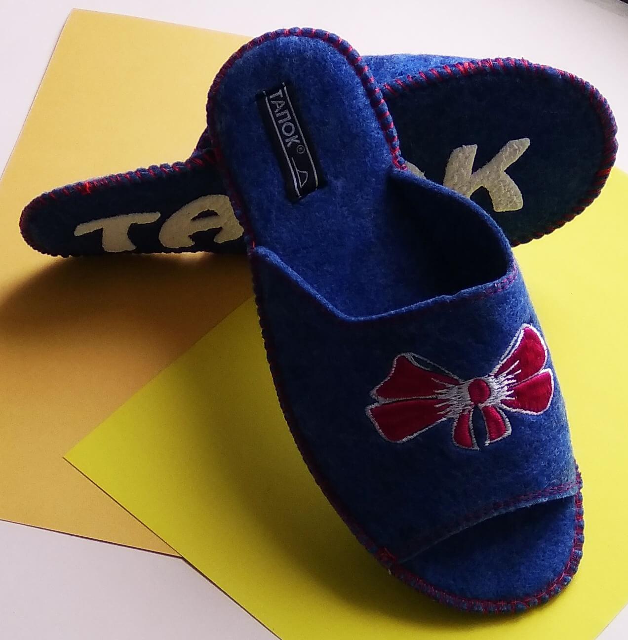 Войлочные тапочки женские TapOK T509r. Фото 5