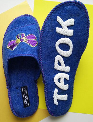 Войлочные тапочки женские TapOK T509v. Фото 4