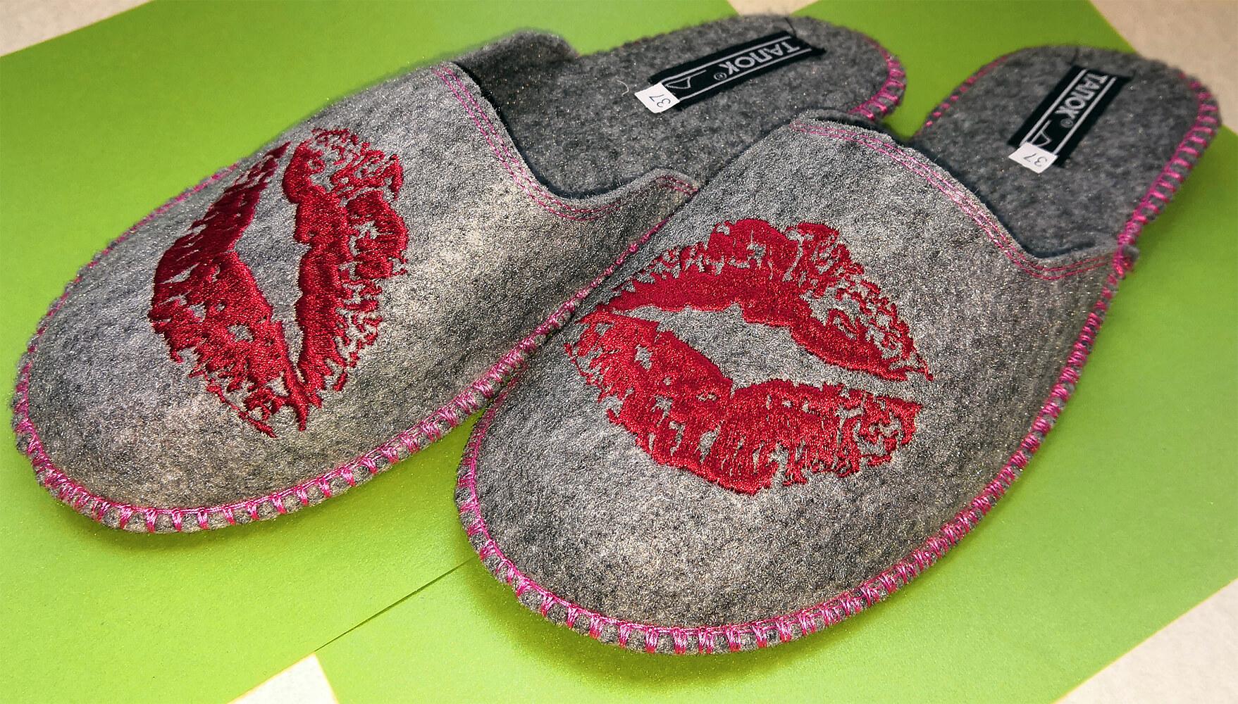 Женские войлочные тапочки TapOk T510 40 размер. Фото 1